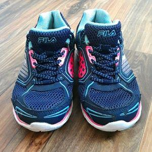 Fila Leather & Mesh Running Sneakers